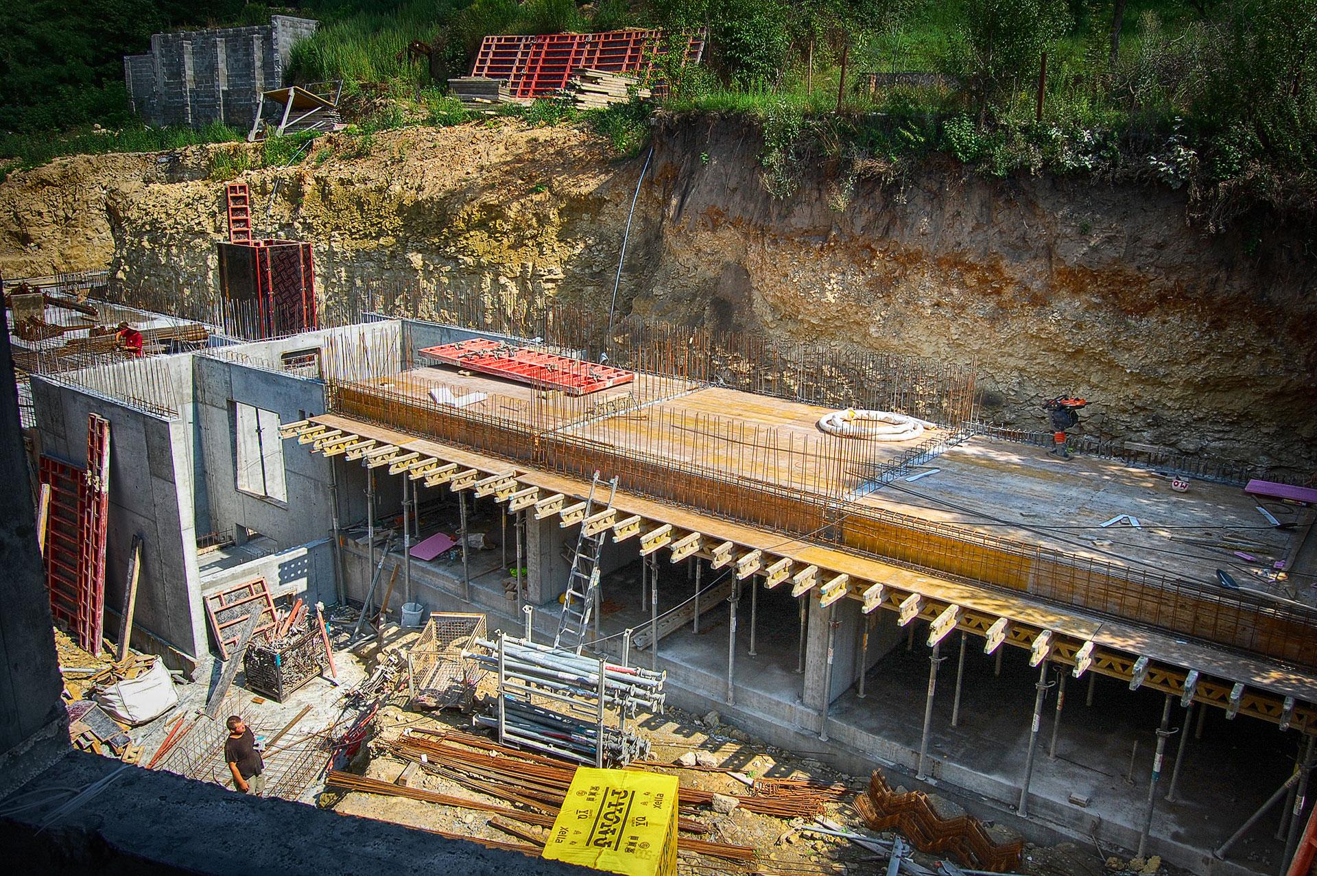 Výstavba dům B / Rezidnce SVATOVÍTSKÁ / DEVELOP MB